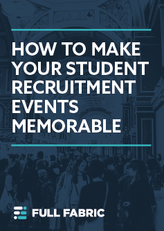 Banner - How to make your student recruitment events memorable